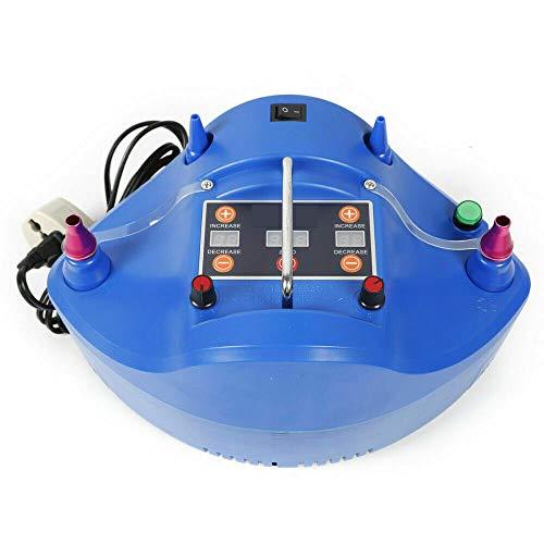 Wangkangyi Bomba de aire eléctrica para globos, bomba de globos con función de temporizador, 1200 W, 500 l/min.