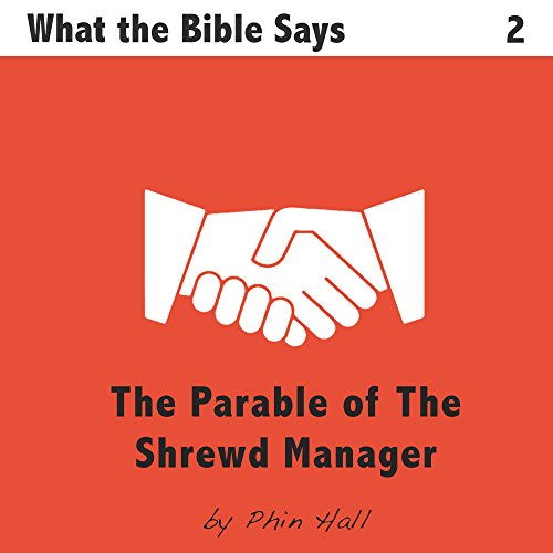 The Parable of the Shrewd Manager audiobook cover art
