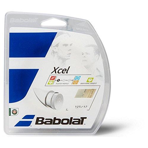 バボラ(Babolat) 硬式テニス ストリング エクセル 125/130/135 BA241110 ナチュラル 125