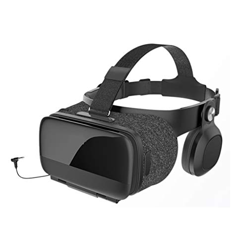 HJSW VR Headsets Virtual Reality Headset VR Goggles Glasses For 3D VR Movies Video Games For IPhone 12/Pro/Max/Mini/11/X/Xs/8/7 For Samsung & Android Phones, W/4.7-6.8in, Z063MK (Color : Android)