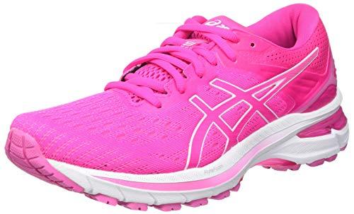 ASICS Damen GT-2000 9 Road Running Shoe, Pink Glo/Dragon Fruit, 39 EU