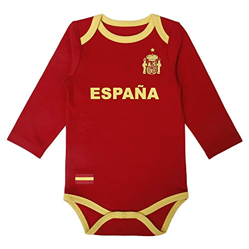 Unisex Newborn Infant Clothing Baby Romper Boys Girls Unique Soccer Bodysuits Onesie Long And Short Sleeve (Red, 3-6 Months)