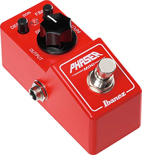 Ibanez PHMINI Phaser Pedal - True Bypass - Red