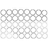 Mahle 41859CP Moly Ring Set (GMC Trk 4.8L/5.3L 1999-2002), Standard