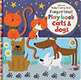 Baby's Very First Fingertrail Playbook Cats/Dogs