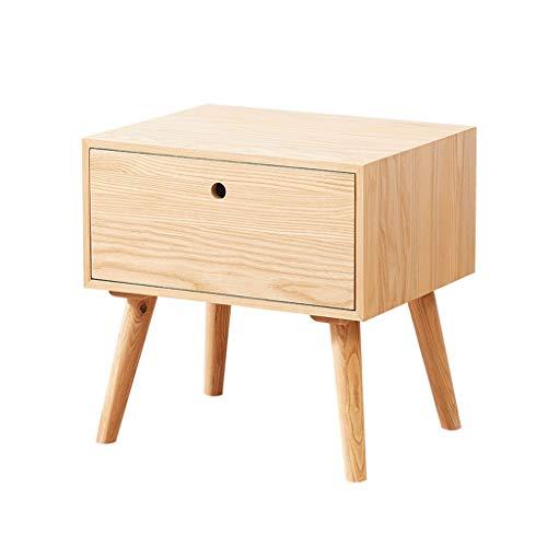 XIANGE100-SHOP Mesita Moda Creativa Mesita de Noche Moderna Simple Dormitorio Gabinete de Almacenamiento Locker nórdica Simple de Madera pequeña Cama Gabinete Gabinete