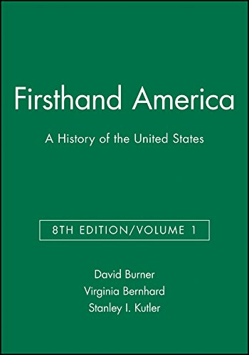 Firsthand America: A History of the United States, Volume 1