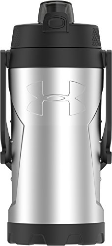 Under Armour MVP 2 Liter Stainless Steel Water Bottle, Stainless