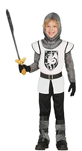 Guirca- Disfraz caballero medieval, Talla 3-4 años (85696.0)