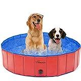Piscina pieghevole per cani da compagnia, piscina da giardino all'aperto portatile, vasca da bagno...