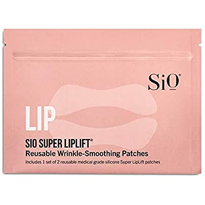 SiO Beauty Super Liplift | Smile & Lip Anti-Wrinkle Patches 2 Week Supply | Overnight Smoothing Silicone Patches For Lip & Smile Wrinkles And Fine Lines 2 Patch Pack from SiO Beauty