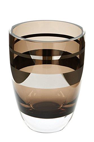 Fink Riva Vase,Windlicht,Greige,M.Platinum Höhe 14 cm , Durchmesser 11 115187