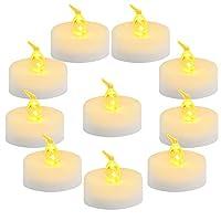 """bello e romantico: la flameless tremolante luce led the (d1.4 """", h1.25"""") sono l'ideale per le decorazioni.può essere usato come night lights con votiva titolari o altri titolari come vetro tazze.usare questi tè leggero per decorare la sua casa, risto..."""