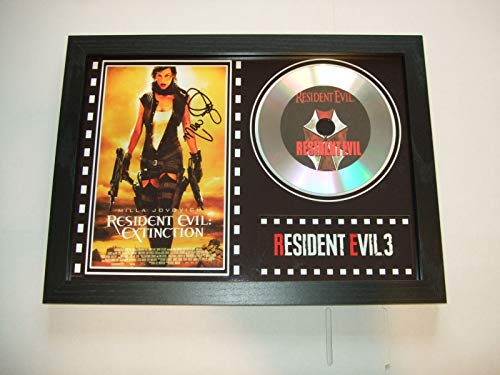 Resident Evil 3 Signierter Film Display