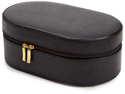 WOLF 280602 Heritage Oval Zip Case Black