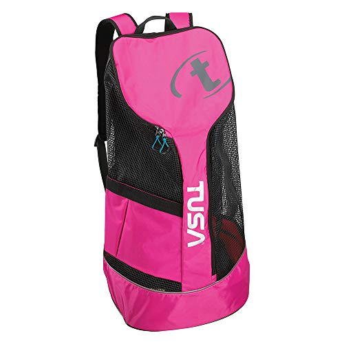TUSA BA-0103 Mesh Backpack, Hot Pink