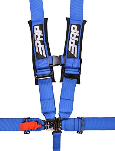 5 Point Harness with 3″ Belts Blue By PRP SB5.3B