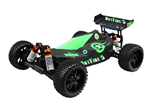 RC Auto kaufen Buggy Bild 4: DF Models 3009 - Hotfire 5 Buggy - 1:10 Brushless Metallgetriebe RTR-Waterproof*