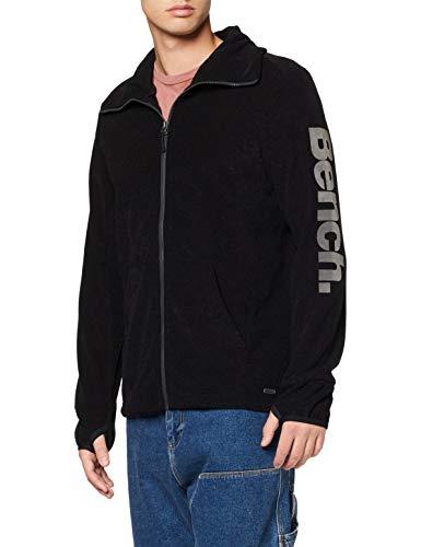 Bench Herren Sport Pullover BMEA2778, Gr. Medium, Schwarz (Jet Black BK014)