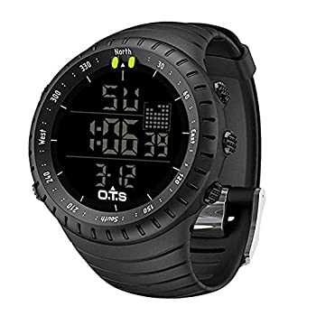 PALADA Men s Digital Sports Watch Waterproof Tactical Watch with LED Backlight Watch for Men
