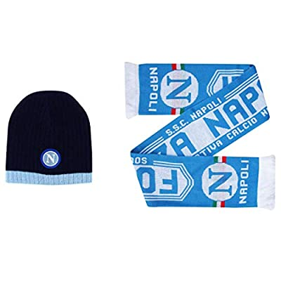Napoli SSC Winter Warmers Hat & Scarf Set