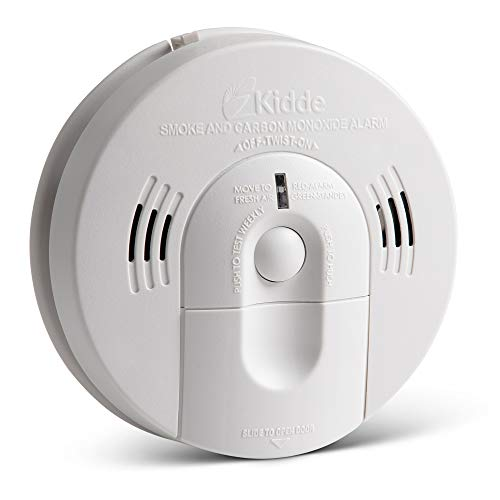 Our #4 Pick is the Kidde Battery-Operated Smoke/Carbon Monoxide Alarm