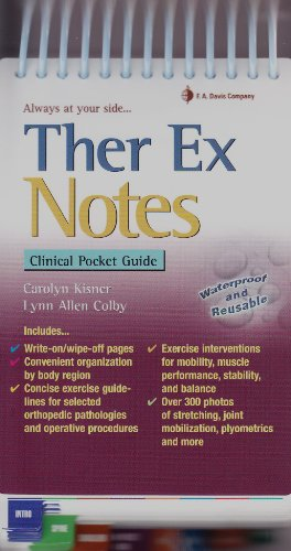 Ther Ex Notes: Clinical Pocket Guide (Davis's Notes)