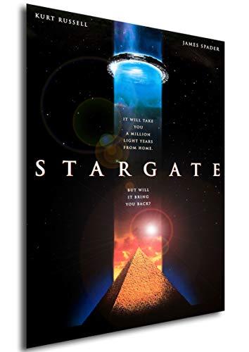Instabuy Poster Stargate Vintage Theaterplakat- A3 (42x30 cm)