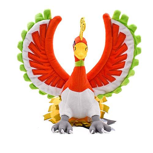 Pokémon Phoenix King Plüschpuppe Flügel Phoenix Peacock Spielzeug Stehen