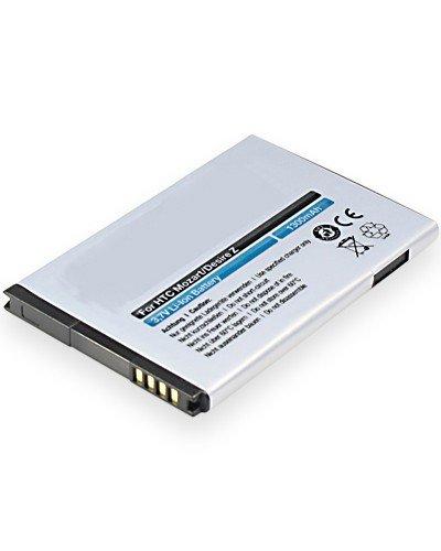 cellePhone Akku Li-Ion kompatibel mit HTC 7 Mozart/Desire Z/T-Mobile G2 (Ersatz für BA S450)