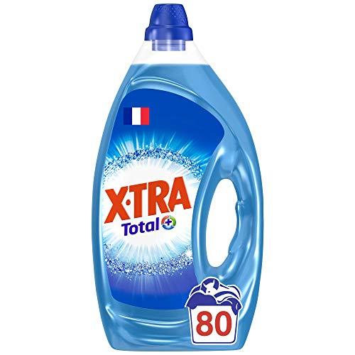X•TRA Total+ Flüssigwaschmittel – 80 Waschgänge (4 l)