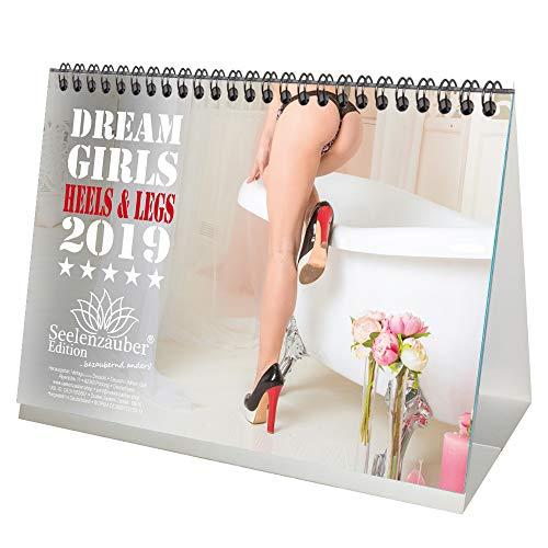 Dreamgirls Heels & Legs · DIN A5 · Premium Tischkalender/Kalender 2019 · Erotik · My Dreamgirls · sexy Girls · Babes · Pin Up · Frauen · Füße · Schuhe · Fetisch · Shades of Sex · Edition Seelenzauber
