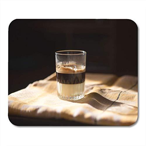 Mauspad Cappuccino Kaffee Kondensmilch In Glas Cafe Bombon Aroma Mousepad Für Notebooks, Mausmatten