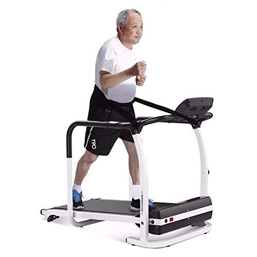 TWTW Cinta para Caminar,Ancianos Andar Correr Cintas, Ajuste de Pendiente de Tercer Grado/Prueba de frecuencia cardíaca/Adecuado para Personas de Mediana Edad y Ancianos.