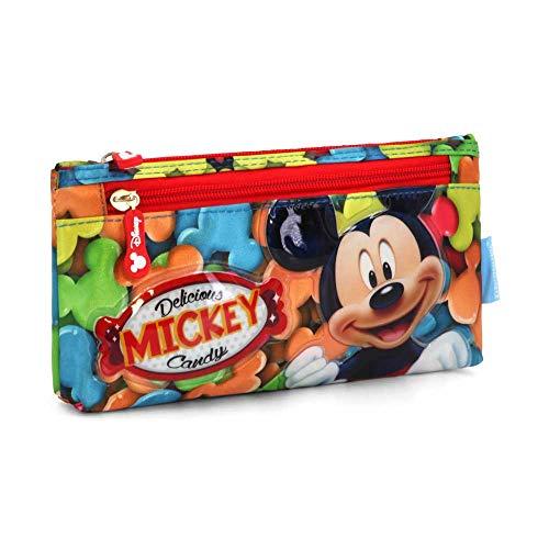 Karactermania Mickey Mouse Delicious Estuches, 22 cm, Rojo