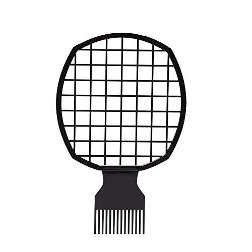 Peigne à cheveux, Afro Hair Comb Men Dreadlocks Tin Foil Hot Perm Comb For Curly Hair Weave Dreadlocks Beauty Tool
