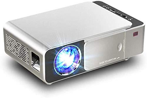 Mini proyector Portable de 3500 lúmenes HD 720P Nativo Mostrar 30.000 176 Horas de Soporte proyector de vídeo LED 1080P HD Compatible con USB SD TV Smartphone Clave HDMI, proyector de Ci...