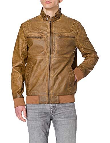 Desigual Chaq_Albert abrigo, marrón, XXL para Hombre