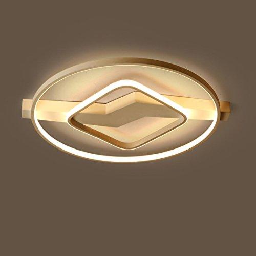 LED Dimmable Moderne Mode Plafonnier Créatif Design Lampe de Plafond Intérieur Décoratif Éclairage Luminaire Métal Acrylique Lustres Pour Enfants Salon Salle à manger Balcon Bar 41W