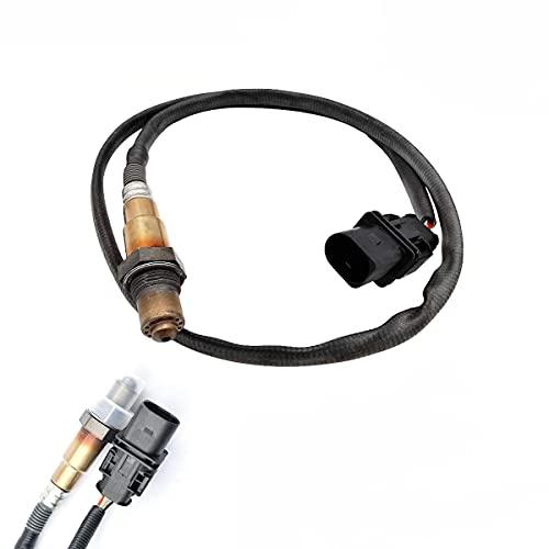 17025 LSU 4.9 WideBand Oxygen O2 Sensor Compatible with Ford Toyota Honda Chevy AEM 30-4110 30-0300 30-0310 X Series AFR Inline Controller UEGO Air Fuel Ratio Upstream Sensor 0258017025