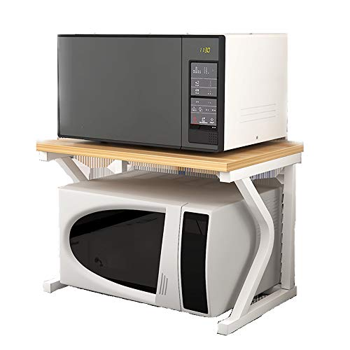 YAzNdom keuken plank Magnetron Oven plank keuken plank teller en kast plank multifunctionele open plank bespaart ruimte voor magnetron Oven Magnetron Oven plank opslag