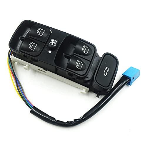 Aliyeyee 2038210679 2038200110 Interruptor de Ventana eléctrico Interruptor de Ventana de Control de energía para Mercedes-Benz W203 C180 C200 C200K C230