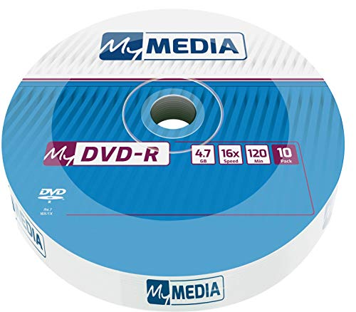 MyMedia DVD‑R 16x 4.7GB I 10er Pack...