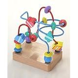 木製おもちゃのだいわ くねくね ミニ ブルー