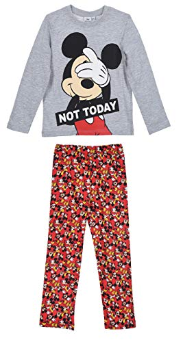 Mickey Mouse Niños Pijama Largo