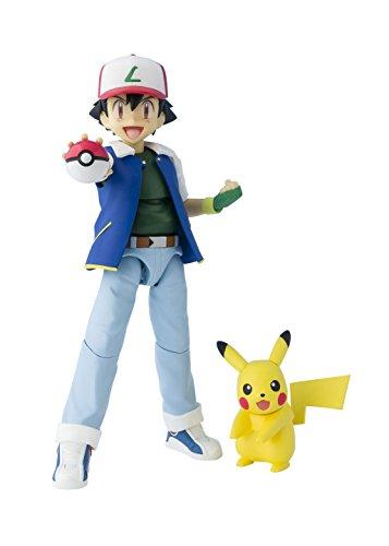 Pokemon - Pikachu & Ash Ketchum/ Satoshi [SH Figuarts](Import Giapponese)