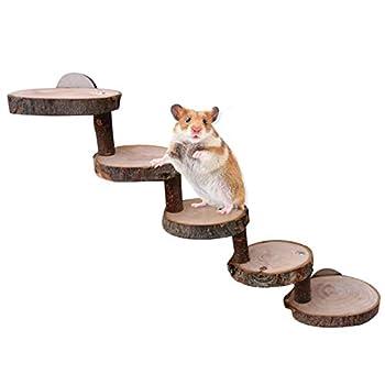 Molare Échelle De Hamster Hamster en Bois Échelle en Bois Serpent Mordre Jouet Miel Sac Serpent Jouer Fournitures Molaires Mini Jouets pour Animaux De Compagnie Exceptional