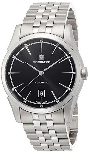 Hamilton Men's H42415031 American Classic Spirit of Liberty Analog Display Swiss Automatic Silver Watch