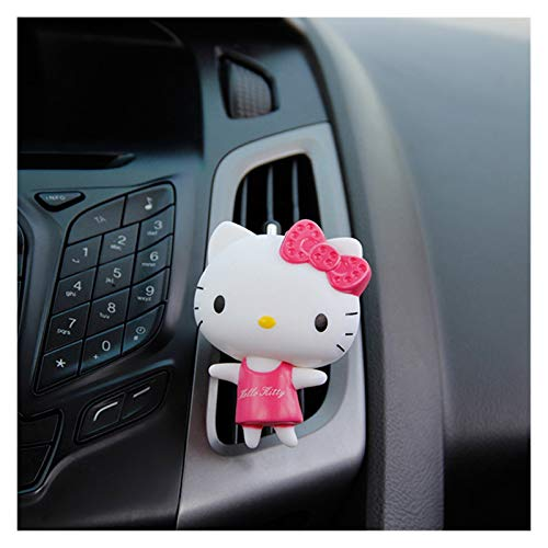 MNZDDDP 8cm Cute Automobile Air Conditioning Outlet Cat Accessories Perfume Clip Lady Car Decoration Gifts For Lady (Color Name : 3)