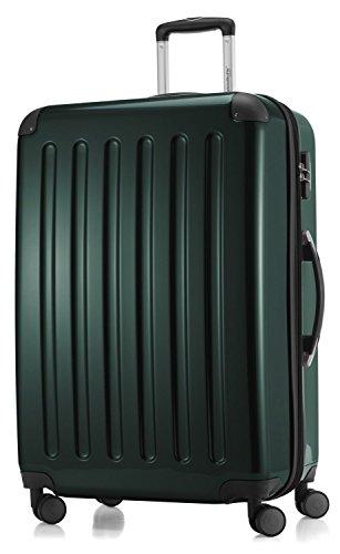 Hauptstadtkoffer - Hartschale Koffer Trolley Serie Alex 119 l waldgrün Hochglanz + 20,- Reisegutschein